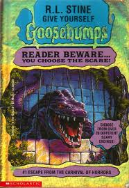 goosebumps choose your own adventure