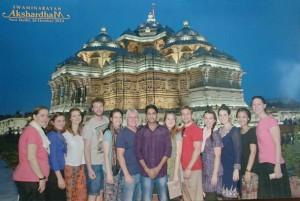 Akshardham Temple Visit With The Mentoring Team