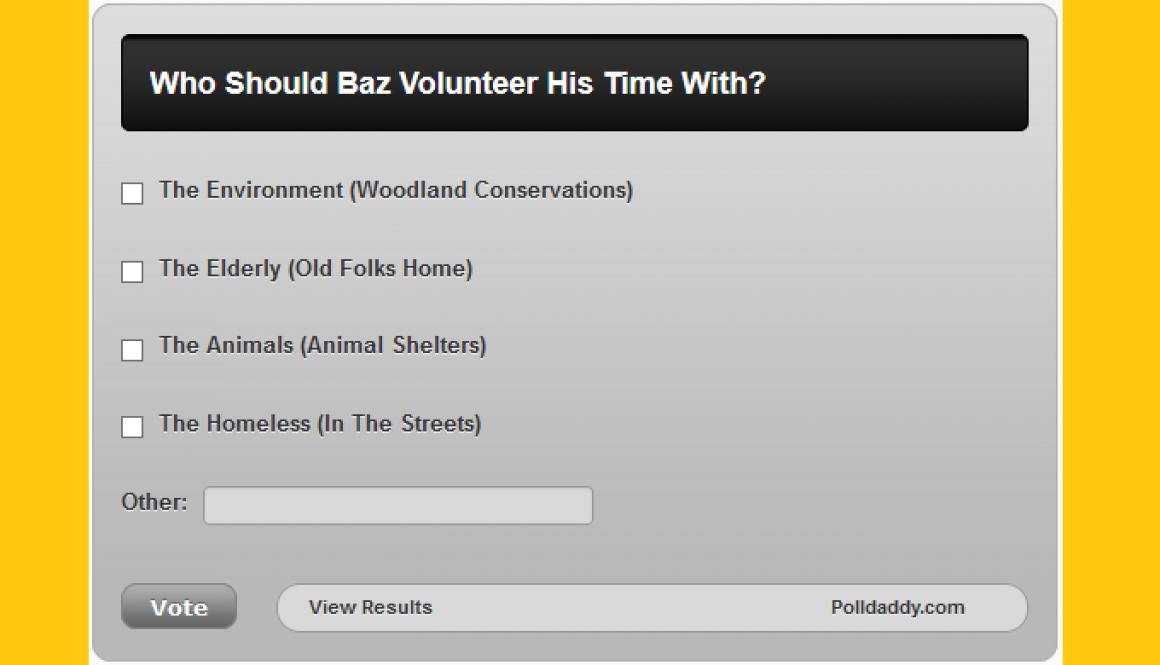 MC #006: Who Should Baz Volunteer Time With?