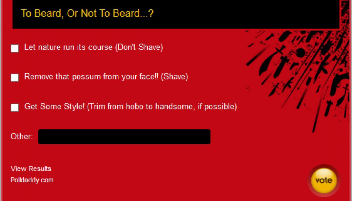 """MC #007: """"To Beard Or Not To Beard"""""""