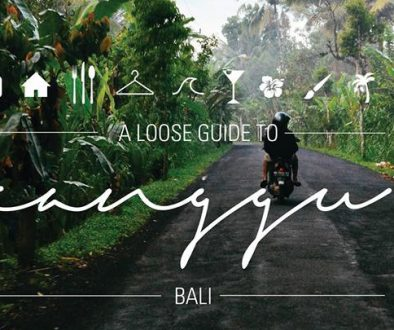"""Published """"A Loose Guide To Canggu"""""""